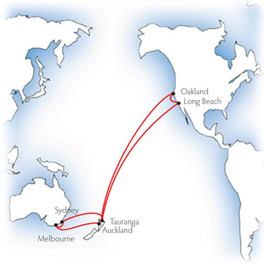 Freighter Travel From North America To Australia And New