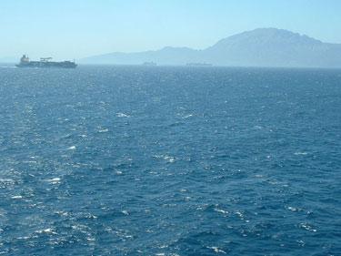 approach to Gibraltar