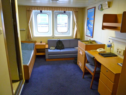 Transatlantic by freighter for Which cruise line has single cabins