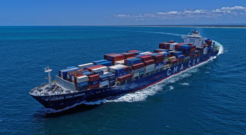 CMA CGM Amber containership